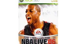NBA Live 06 NextGen Xbox 360 Gameplay ретроспективный стрим :-)