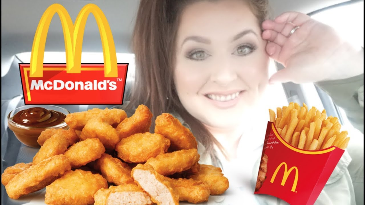 My First Time Trying Mcdonalds Nuggets Mukbang