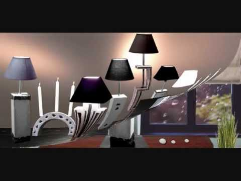 design objets b ton luminaires mobilier accessoires youtube. Black Bedroom Furniture Sets. Home Design Ideas