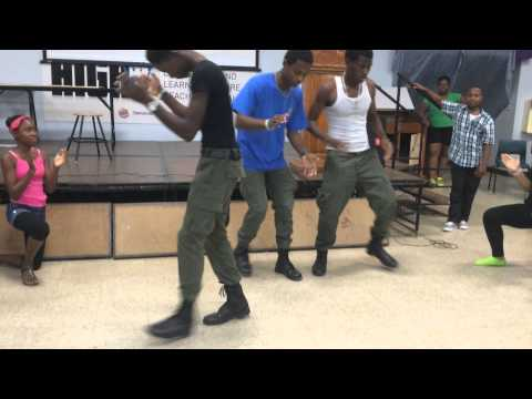 John gray high school flash mob(Cayman Islands )