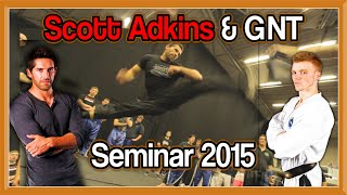 Scott (Boyka) Adkins & GNT Seminar | UK Martial Arts Show 2015 | Taekwondo Kicks & Flips