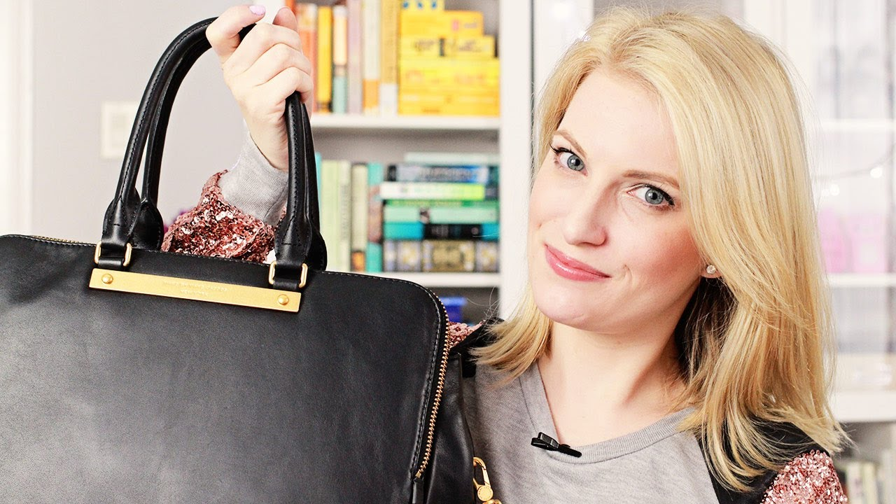 d94a78cbfb Marc Jacobs Handbag Review (+ Mini What's In My Bag) - YouTube