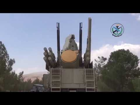 Syrian Air Defense Forces in action