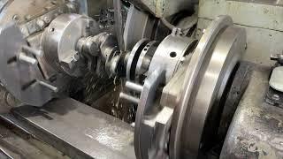 Запчасти в работе: Ремонт шатунной шейки коленвала двигателя 3.0л дизель 306DT от Land Rover