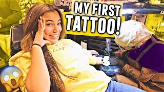 GETTING MY FIRST TATTOO!! 😱 Spontaneous New York City Experience!