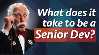 What does it take to be a Senior Developer