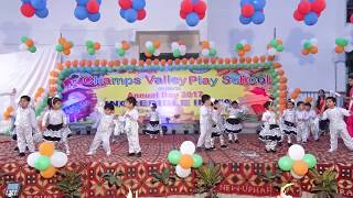 Welcome song I Stage performance pre nursery class I Annual day function I