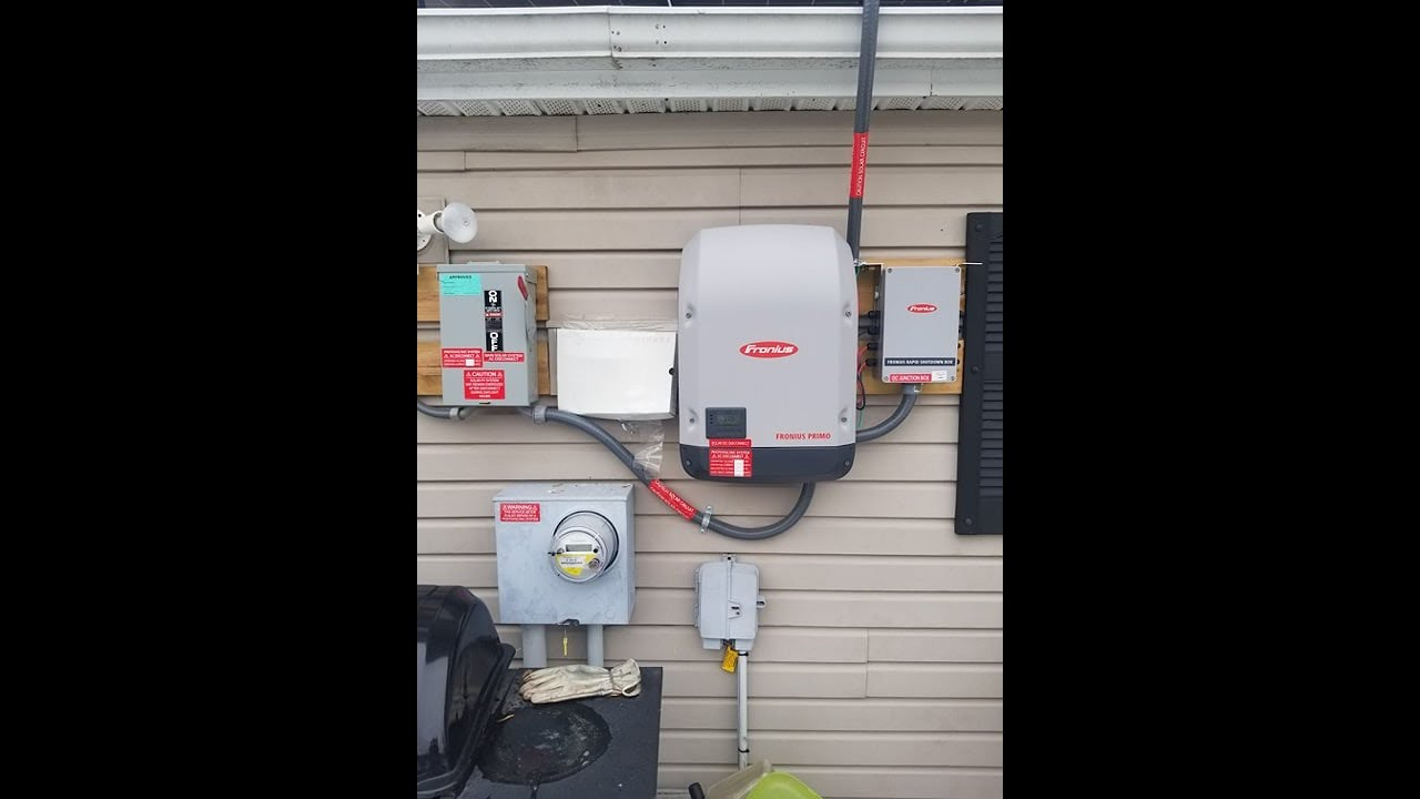 Fronius Rapid Shut Down Box And Primo Inverter Wiring From Solar Panel Panels How To Michigan