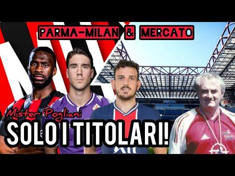 PARMA-MILAN, TOMORI, VLAHOVIC E... FLORENZI!!! - Milan Hello - Lavagna Tattica di Mister Pogliani