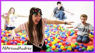 Last To Leave Ball Pit Hide And Seek Wins / AllAroundAudrey