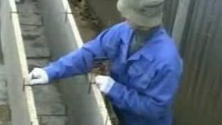 видео Опалубка несъемная Velox для экономных