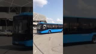 Тестування нових ужгородських автобусів