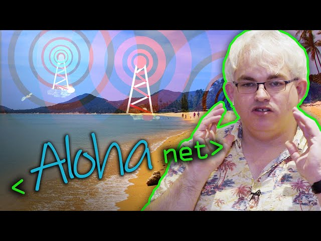 ALOHAnet: Grandfather of All Computer Networks - Computerphile