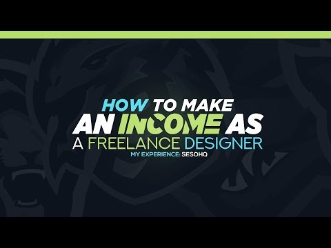 How to Make An Income as Freelance Graphic Designers