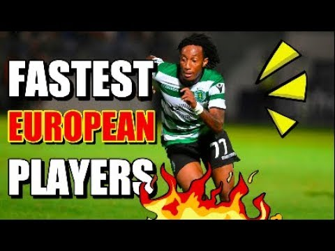 9 Fastest Players in European Football - Right Now!