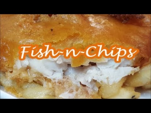 EASY FISH AND CHIPS |  WITH FROZEN ALASKAN POLLACK |RICHARD IN THE KITCHEN