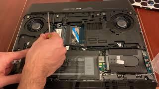 Install SSD Heatsink in Alienware Area 51m