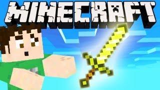 Minecraft - GOLDEN SWORD QUEST