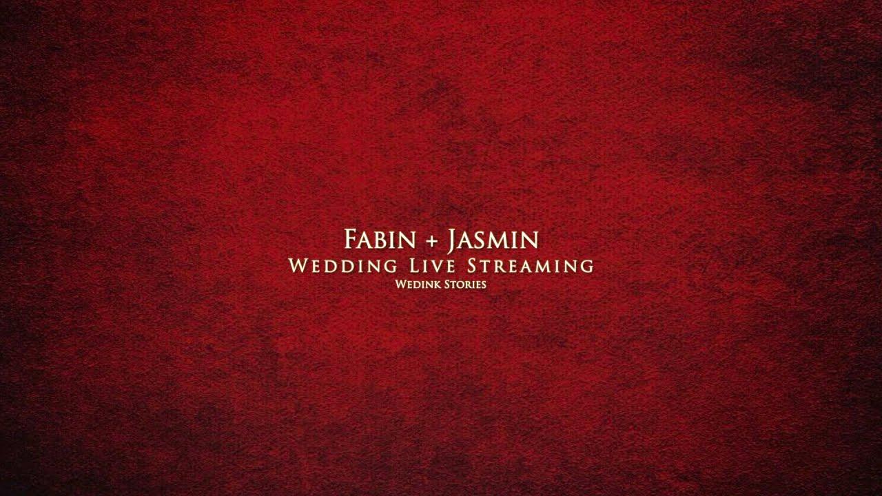 Fabin + Jasmin | Wedding Live Streaming | Wedink Stories