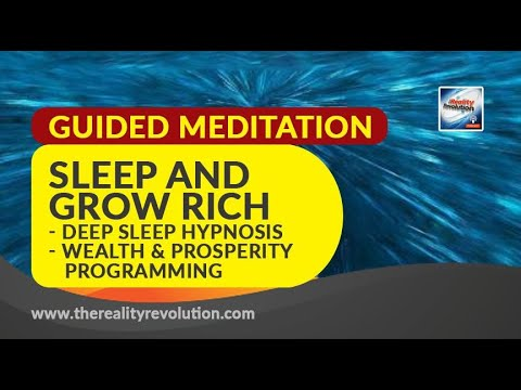 Sleep and Grow Rich  - Deep Sleep Hypnosis - Wealth and Prosperity Programming
