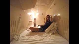 I STAYED IN JAPANESE INTERESTING CAPSULES HOTEL!