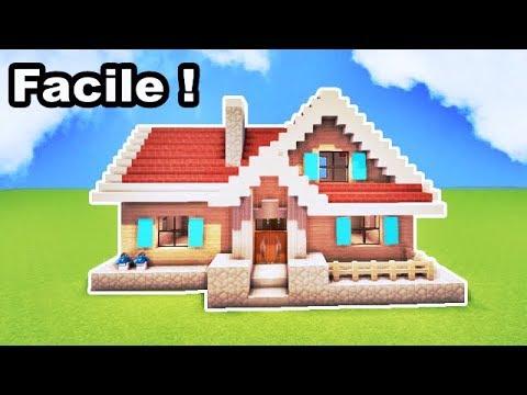 Comment faire une petite maison 14x20 sur minecraft tuto for Comment faire une petite maison minecraft