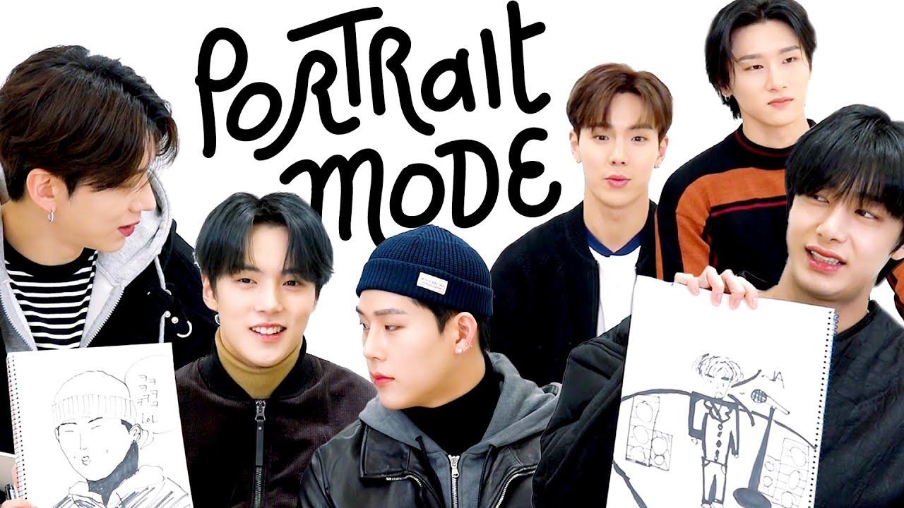 Which Member of Monsta X (몬스타엑스) Is the Best Artist? | Portrait Mode | Harper's BAZAAR