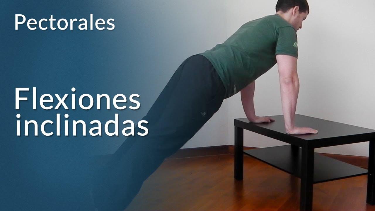 Rutina flexiones de brazos 30 dias