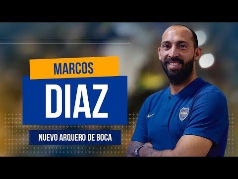 Conoce a Marcos Diaz, NUEVO arquero de BOCA