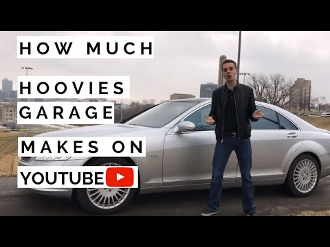 How much Hoovies Garage makes on Youtube
