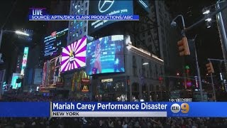 Dick Clark Productions Says It's 'Absurd' For Mariah Carey To Blame Them For Her NYE's Performance W