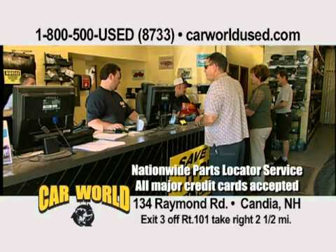 Car World Used Parts Candia Nh