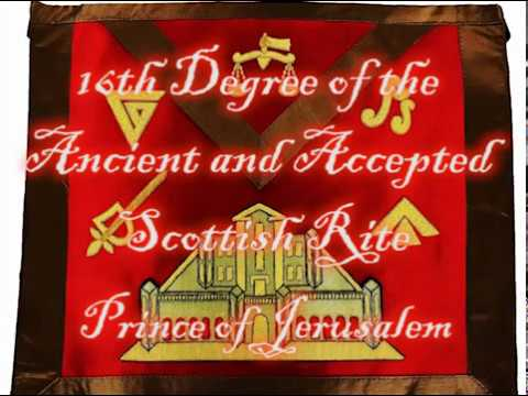 16th Degree of the Ancient and Accepted Scottish Rite - Prince of Jerusalem