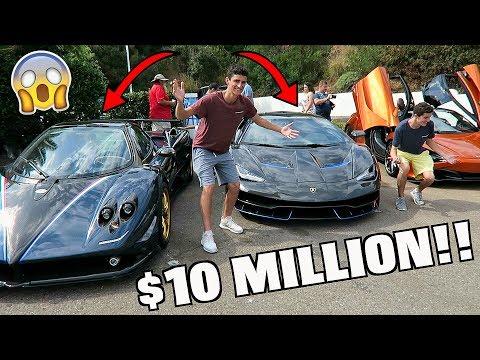 We Found a Pagani Zonda & Lamborghini Centenario!!