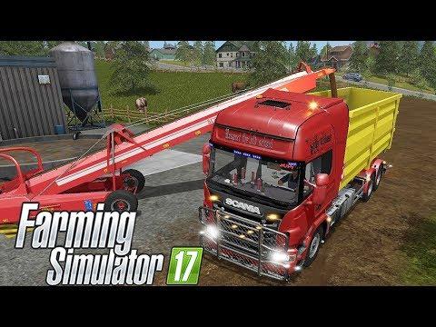 IT RUNNER SUL MIO SCANIA R370 #207 - FARMING SIMULATOR 17 GAMEPLAY ITA