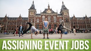 How To Organize A Dance Event | Assigning Event Jobs