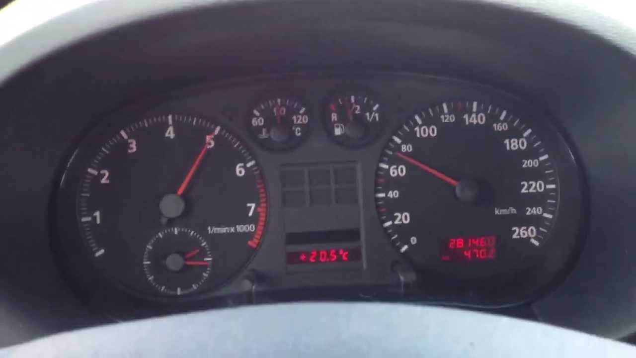 Audi 1.8 T >> Audi A3 1.8 5V acceleration - YouTube