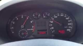 Audi A3 1.8 5V acceleration