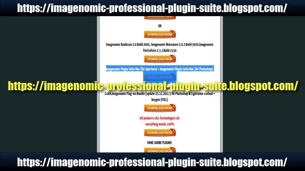 Imagenomic Noiseware 5 0 3 Build 5033u7 + keys(FULL) WIN-MAC
