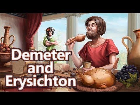 Demeter and Erysichthon: The Hunger Myth - Greek Mythology Ep. see u in history