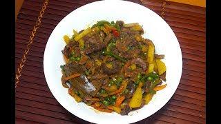 Spicy Igado - Pork Kidney & Tongue Stew - Igado - Filipino Recipes - Pinoy Recipes