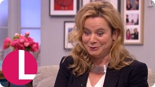Emily Watson Couldn't Believe How Racy Her New TV Series Apple Tree Yard Was | Lorraine
