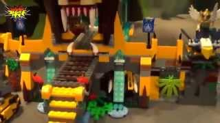 Đồ chơi trẻ em - Lego ChiMa Ngôi đền Sư Tử 70010