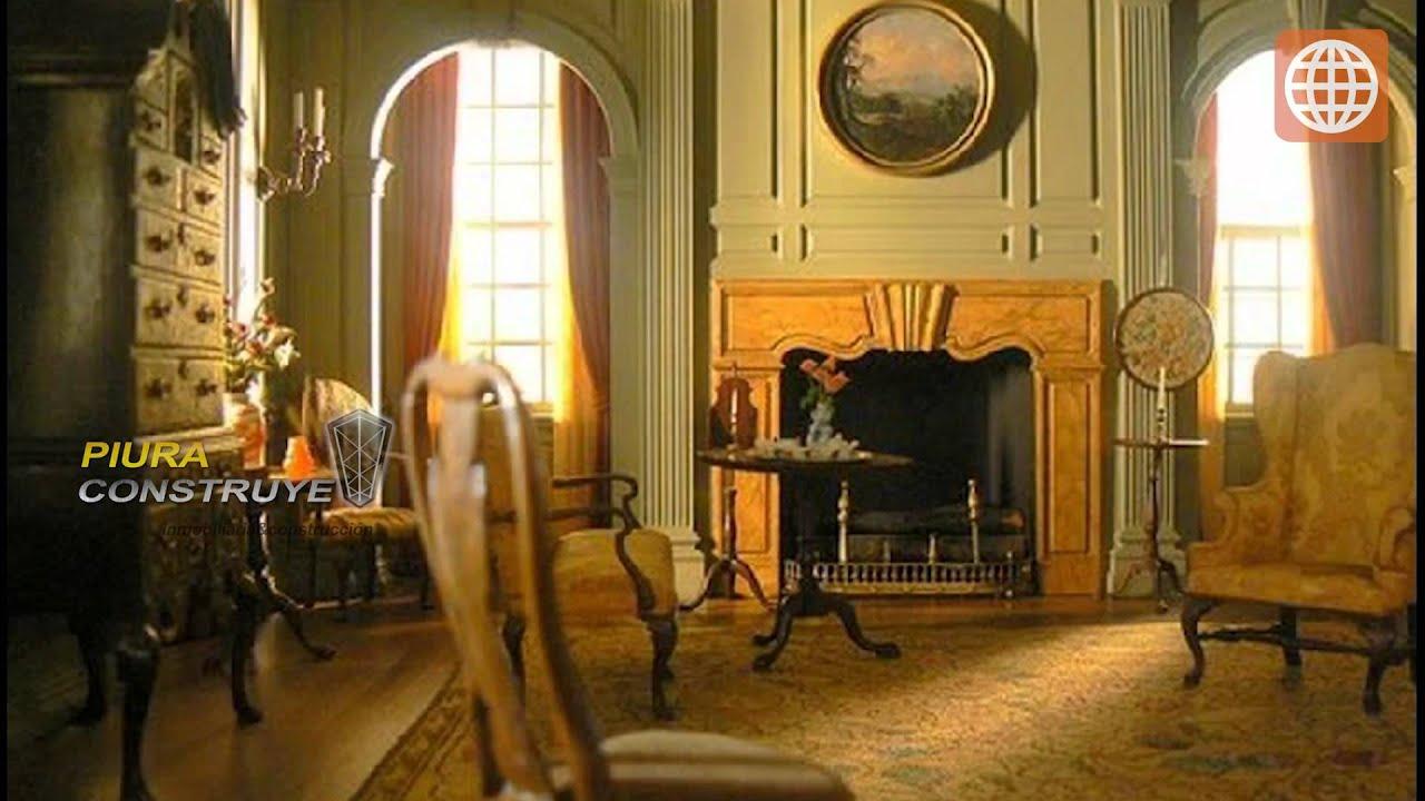Mansion Living Room Gold