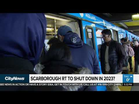 Scarborough RT to shut down in 2023?