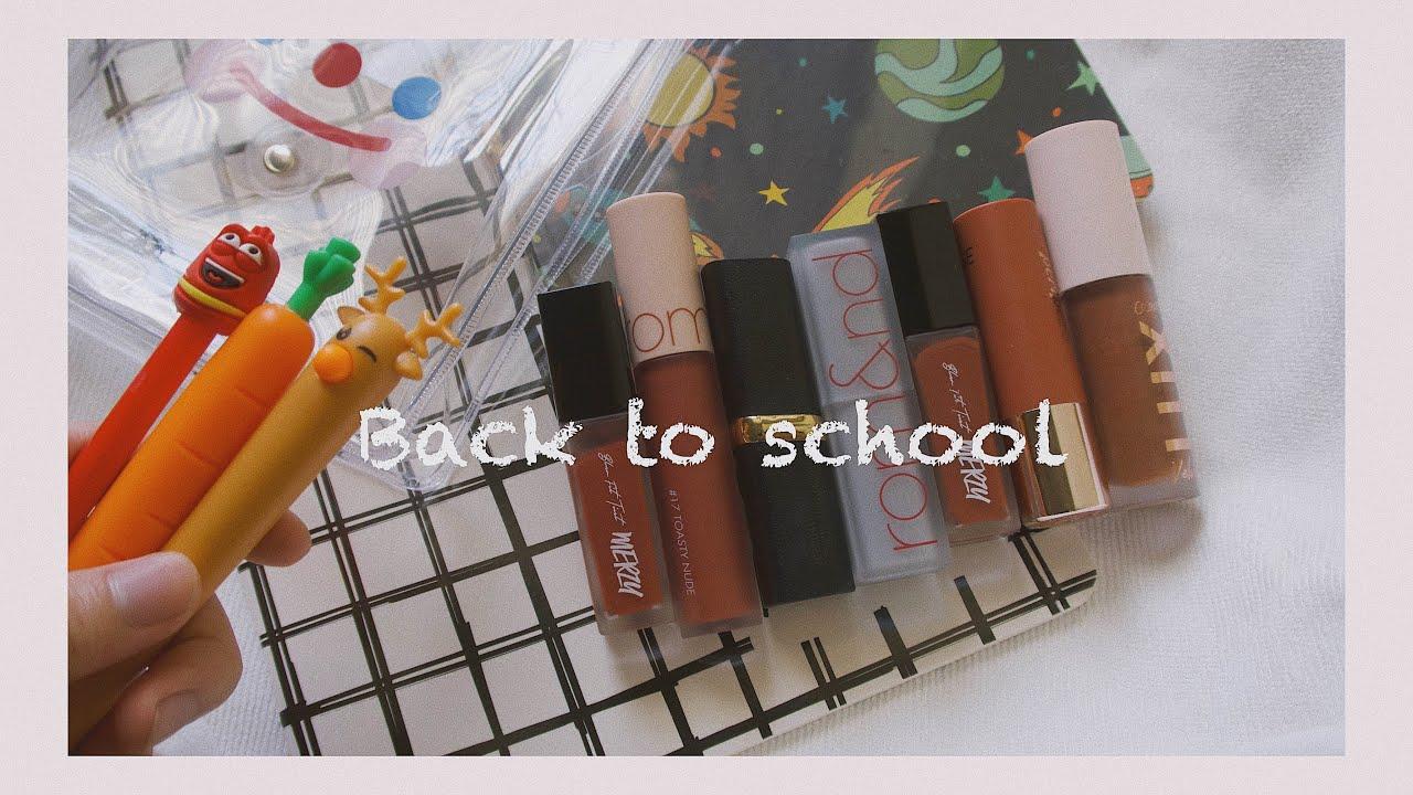 [GIVEAWAY] ĐI HỌC DÙNG SON GÌ ? 7 CÂY SON CHẤT LƯỢNG GIÁ RẺ   BACK TO SCHOOL   Yeah I'm Lio