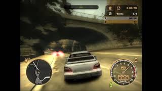 NFSMW Carrera contra Razor Pt 4/5: Danny Kruger[Born To Race] VS Razor[Subaru Impreza VS BMW M3 GTR]