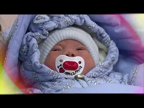 Видеосъемка выписки из роддома «Мать и дитя»