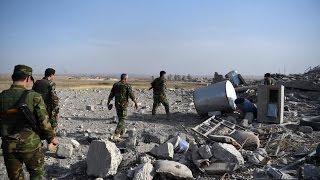 أخبار عربية - تحرير 12 قرية في قضاء الحمدانية من إحتلال داعش في الموصل