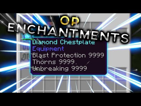 MCPE Tutorials: How to Add GOD Enchantments | No Mods, Add ons, or